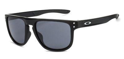 Oakley Holbrook R Sunglasses OO9377-0155 Matte Black Frame Grey Lens 9377 01