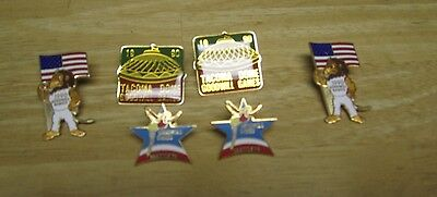 1990 Goodwill Games Pins   Set Of 6