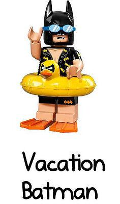 LEGO Batman Movie Minifigure Series 71017 Vacation Batman #5 FACTORY SEALED NEW