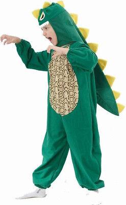 Dinosaurier-Kostüm für Kinder Krokodilhaut grün - Kostüm Haut