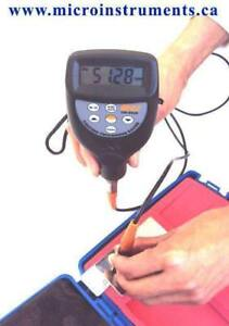 Coating Thickness Meter, Digital Paint Meters www.microinstruments.ca Professional Calibrated Instruments with Warranty
