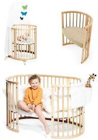 Stokke sleepi mini, cot, junior / toddler bed