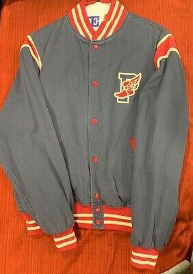 OG Vintage Polo Ralph Lauren 1992 Stadium Bomber Jacket  P Wing L Snow Beach