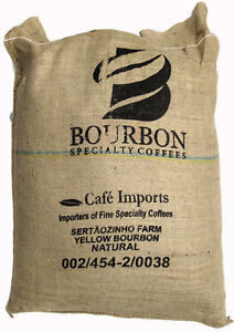 Fresh Roasted Brazilian Yellow Bourbon - Whole Coffee Beans 5 LBS. Blue Macaw