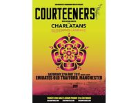 **LESS THAN FACE VALUE** 4 x Courteeners standing tickets, Old Trafford, Saturday 27 May 2017