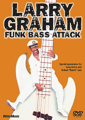 LARRY GRAHAM FUNK BASS GUITAR ATTACK *NEW* DVD