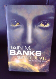 SURFACE DETAIL BY IAIN M. BANKS BOOK
