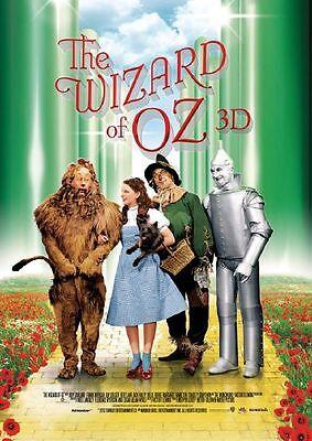 Der Zauberer Von Oz Filme (THE WIZARD OF OZ (Der Zauberer von Oz) Original Filmplakat A1 GEROLLT)