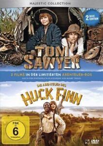 Tom Sawyer/  Die Abenteuer des Huck Finn - 2 Disc Edition - NEU/OVP