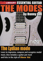 LICK LIBRARY LYDIAN MODE STEVE VAI GUITAR DVD NEW