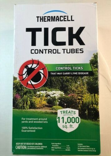 Thermacell Control Tubes Insect Repellent Device For Ticks 12 Pack