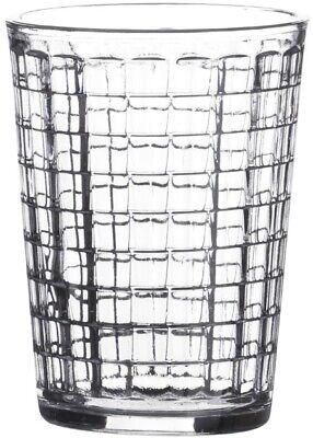 Ladrillo Diseño Cristal Vaso Juego Apilables Zumo Agua Gafas Conjunto De 8