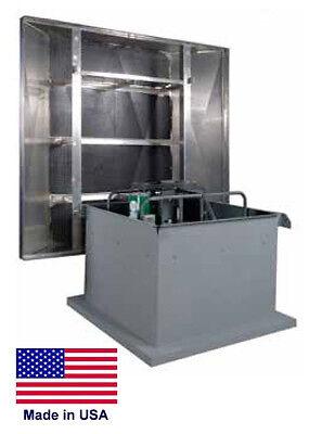 Roof Ventilator Exhaust Fan - Belt - 24 - 34 Hp - 115230v - 1 Ph - 6648 Cfm