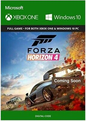 XBOX ONE Forza Horizon 4 [Digital Download] **SAME DAY DELIVERY**