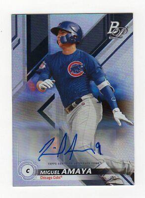 Miguel Amaya Autograph - Chicago Cubs - $3.95