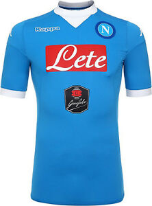 S.S.C. NAPOLI HOME JERSEY 2016**BRAND NEW WITH TAGS