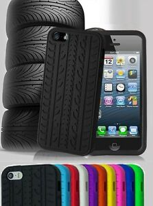 BLACK-TYRE-TREAD-DESIGN-SILICONE-GEL-RUBBER-CASE-COVER-for-iPHONE-5-5S-6-6-Plus