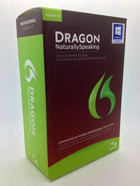 Dragon Naturally Speaking Professional 12 with Headset ENGLISH and SPANISH