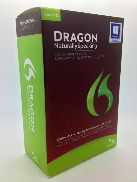 Dragon Naturally Speaking Professional 12 SPANISH and ENGLISH with HEADSET NEW