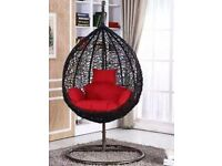 Swing Chair Hanging chair Egg chair Rattan Chair Patio Garden Indoor Outdoor with cushions