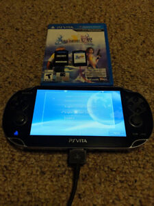 Playstation Vita with 2 games