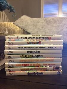 $50 for 9 Wii Games for Kiddos a