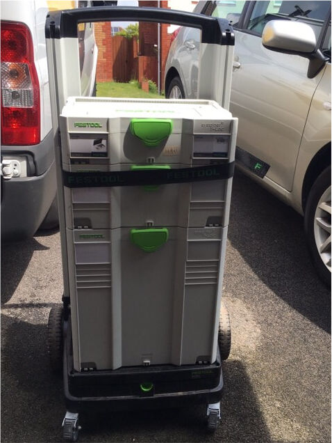 Festool Systainer Trolley Plus 3 Systainers In