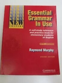 English self-study book: ESSENTIAL GRAMMAR IN USE - CAMBRIDGE University Press - Raymond Murphy