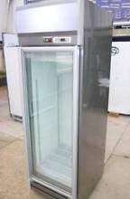 New Commercial Freezer 1 Glass Door Silver 550Litre Upright Shop Westmead Parramatta Area Preview