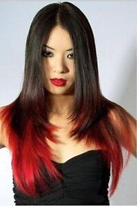 """Clip in hair extension, Straight hair, 60 cm, 24"""", 100g,  RED Yellowknife Northwest Territories image 6"""