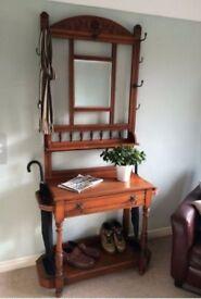 Vintage Victorian Hardwood hall stand £260