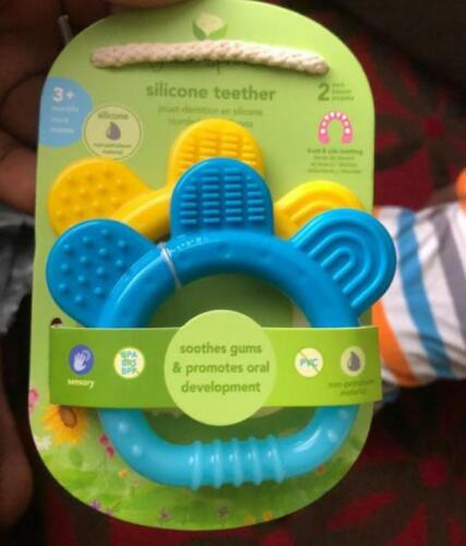 green sprouts Molar Teether made from Silicone | Soothes