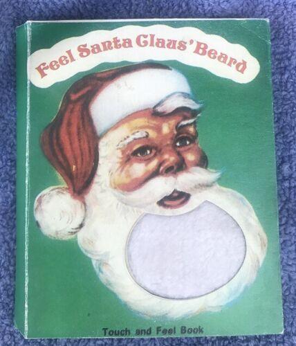 """1950s RARE CHRISTMAS BOOK - """"FEEL SANTA CLAUS"""