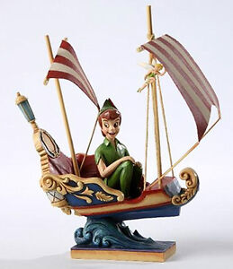 Disney Traditions Jim Shore Peter Pan's Flight with Tinker Bell Figurine