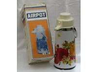 Airpot original flask with box - Vintage