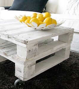 Rustic Pallet Coffee Tables
