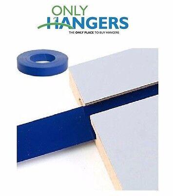 Only Hangers Blue Vinyl Insert For Slatwall