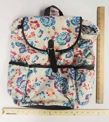 Candies Blue Pink Roses Back Pack Tote Bag Purse 24 hour FLASH SALE](Canvas Tote Bags Cheap)
