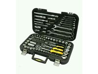 "TORQ 1/4"", 3/8"", 1/2"" MIXED SOCKET & SPANNER SET, 91 PIECES"