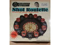 Shot roulette game