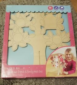 New M&S make your own family tree crafts