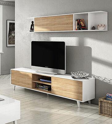1 Estante HABITMOBEL Althea M/ódulo Mueble Televisi/ón 1 Puerta