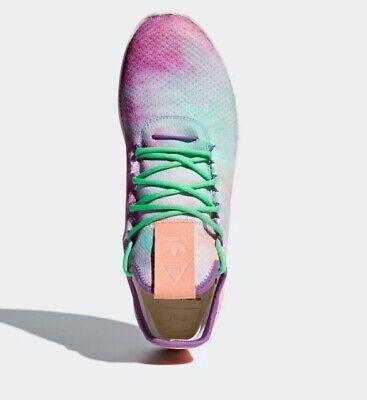 0a3296d7fde59 Adidas Pharrell Williams HU HOLI Tennis HU MC Shoes AC7366 Chalk Coral UK  10.5