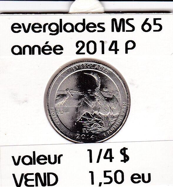 everglades  2014 P   voir description