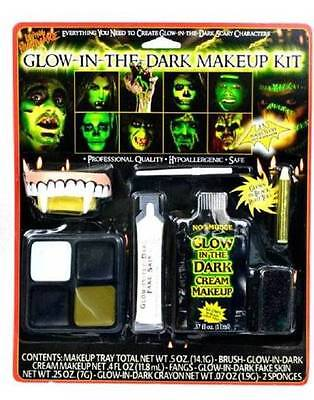 NIP-Adult Halloween Glow In The Dark Vampire Character Quality Makeup Kit (Adult Halloween Makeup)