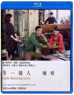 "Vivian Chow ""Cafe. Waiting. Love"" Giddens 2014 Taiwan Romance Region A Blu-Ray"