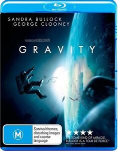 Gravity - George Clooney (Blu-ray, 2014) NEVER PLAYED & STILL SEALED