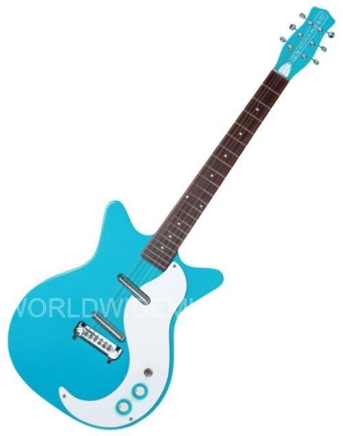 Danelectro DC59M-CBL Dano 59 Mod. Double Cutaway Electric Guitar BABY BLUE