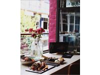 Sous chef for The Life Goddess, contemporary greek restaurant in Central London.