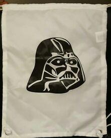 Star wars Darth Vadar childrens gym sack